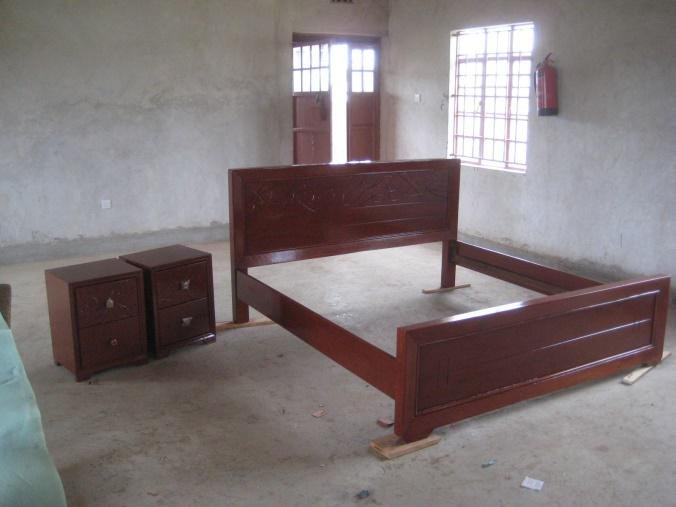 Bedframe and Cupboards