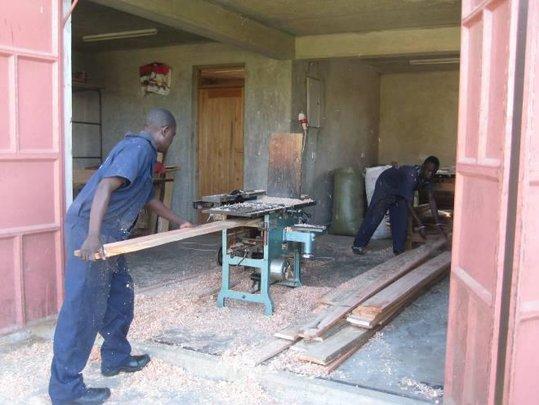 Planing timber for desks