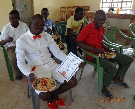 Paluoc students enjoying their meal