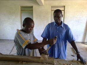 Learning carpentry skills