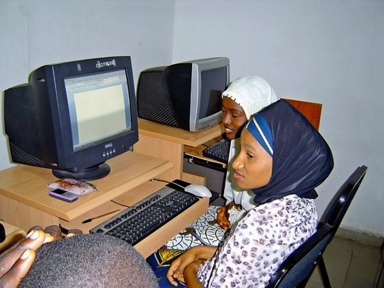 Computer training for the disabled class