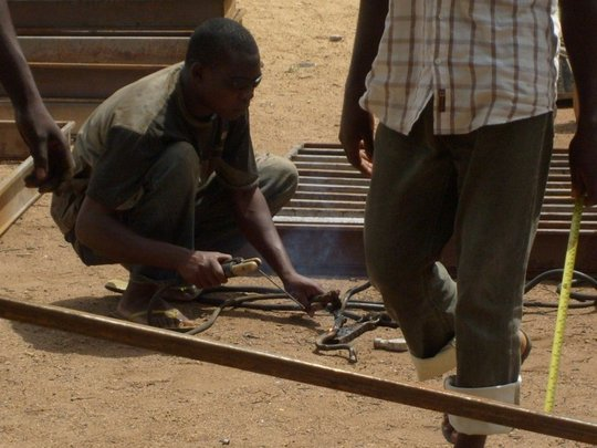 creating new infrastructure with welding business