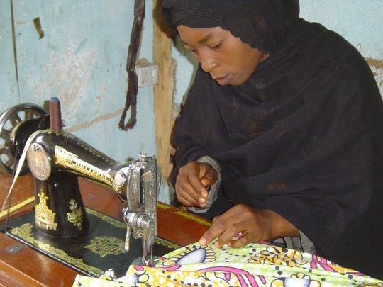 creating jobs through tailoring initiatives