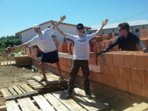 Helping to build the Education Centre