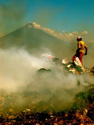 Garbage Dump Outside Antigua, Guatemala