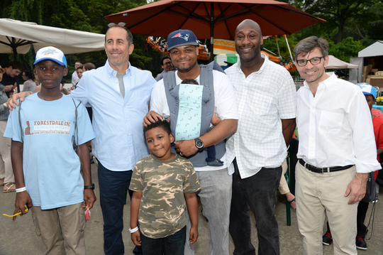 A Great Group of Dads at the Bedtime Bash