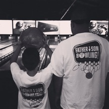 Bowling & Bonding for Father's Day!