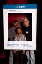 Jerry Posing with a Bronx Fatherhood Family