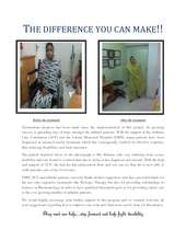 The difference you can make! (PDF)