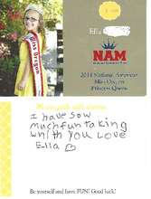 Note from Ella who is sponsoring Vision Fun Run (PDF)