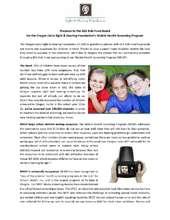 OLSHF Vision Screening Proposal (PDF)