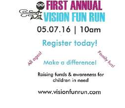 Vision Fun Run sponored by Ella