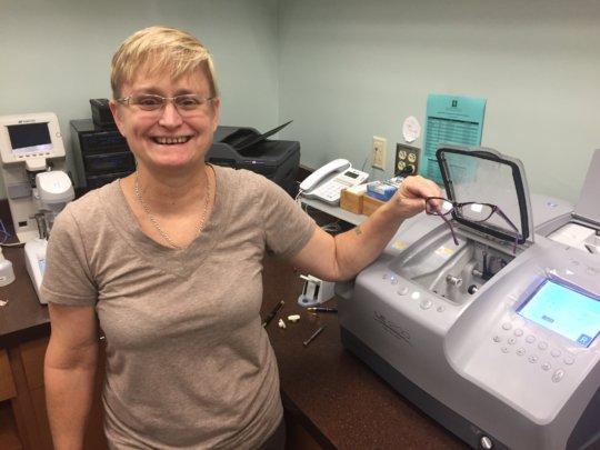 Tracy LEAP Lab Technician