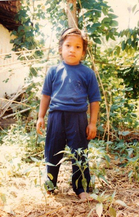 Ashok at Age 4