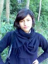 Laxmi in the mountains of Pokhara