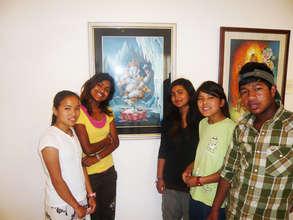 Newari Art Exhibit