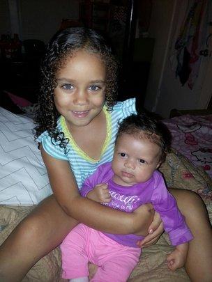 Ashley's two children