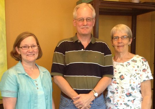 Cindy Street, Bob Jackson, Nancy Rosebaugh