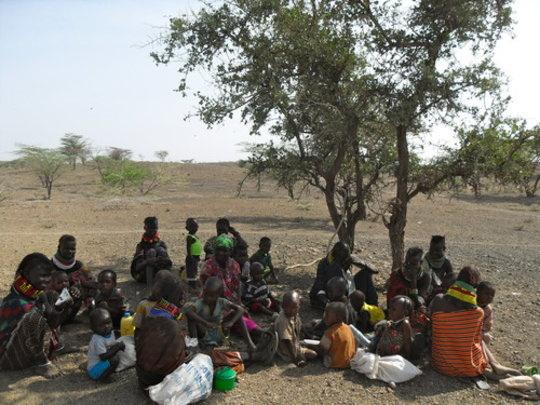 Merlin Outreach visits in Turkana
