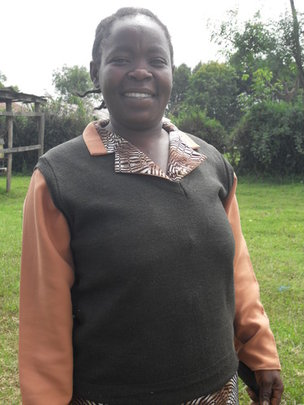 Stella Moraa Gwaro, Merlin community health worker
