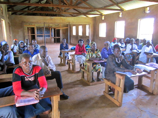 Community Health Worker malaria training, Kisii