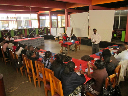 Psychosocial training of local health staff, Kisii