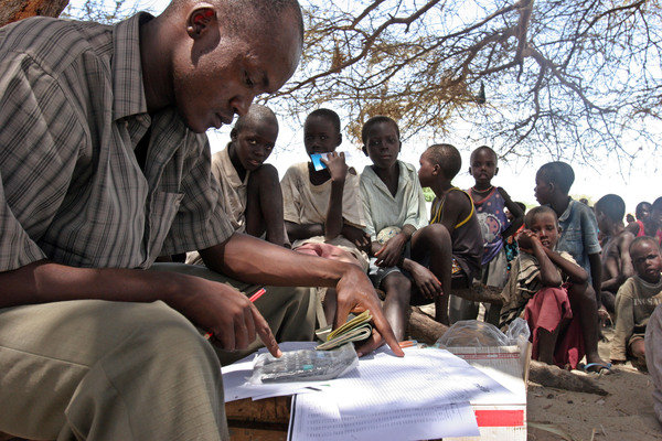 Outreach for vital health services in rural Kenya