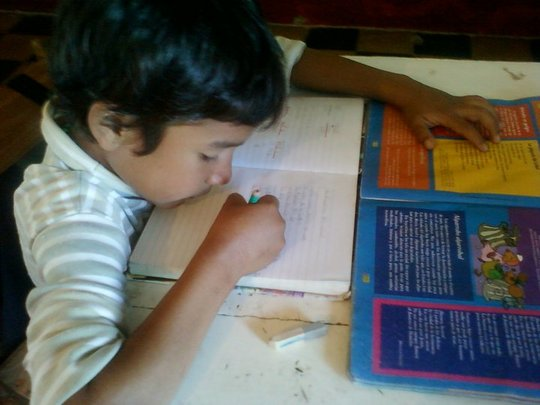 Literacy improvement for at-risk children in Chaco