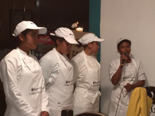 Women from El Quetzalito Village