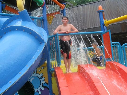 Rodrigo at Rockville Swim Center