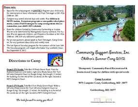 Summer Camp Brochure 2012 (PDF)