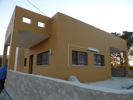 Sadiq's house is painted!