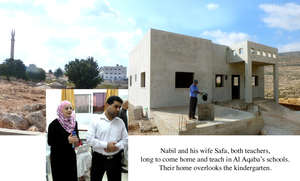 Nabil and Safa eagerly wait for their home