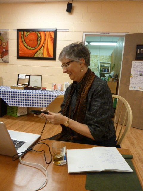 Hosting Stay Human Conf. Call from Nur Center, VA
