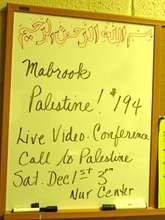 The Palestine Vote had just passed at the U.N. !