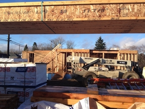 Progress continues on our Guest Housing Project