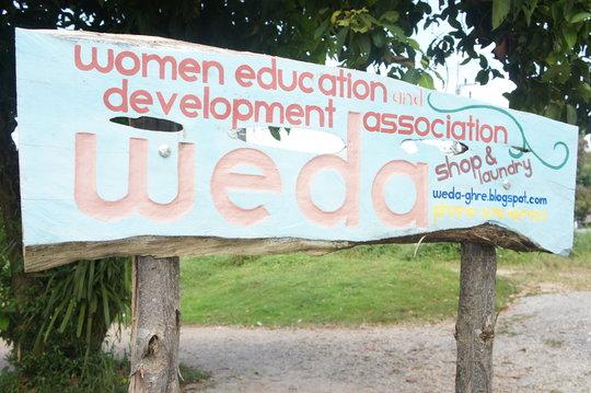 WEDA Sign