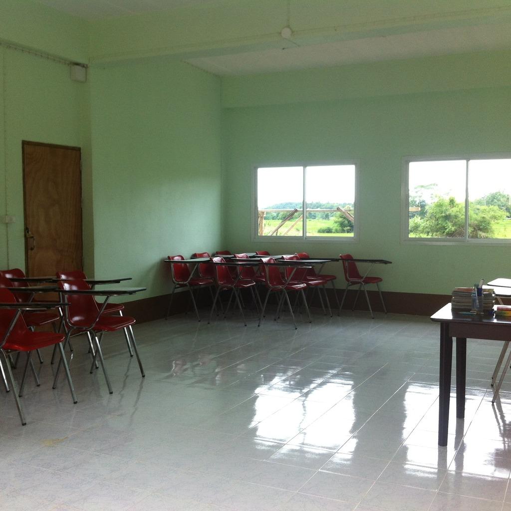 The new classroom!