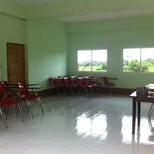 The new classroom!
