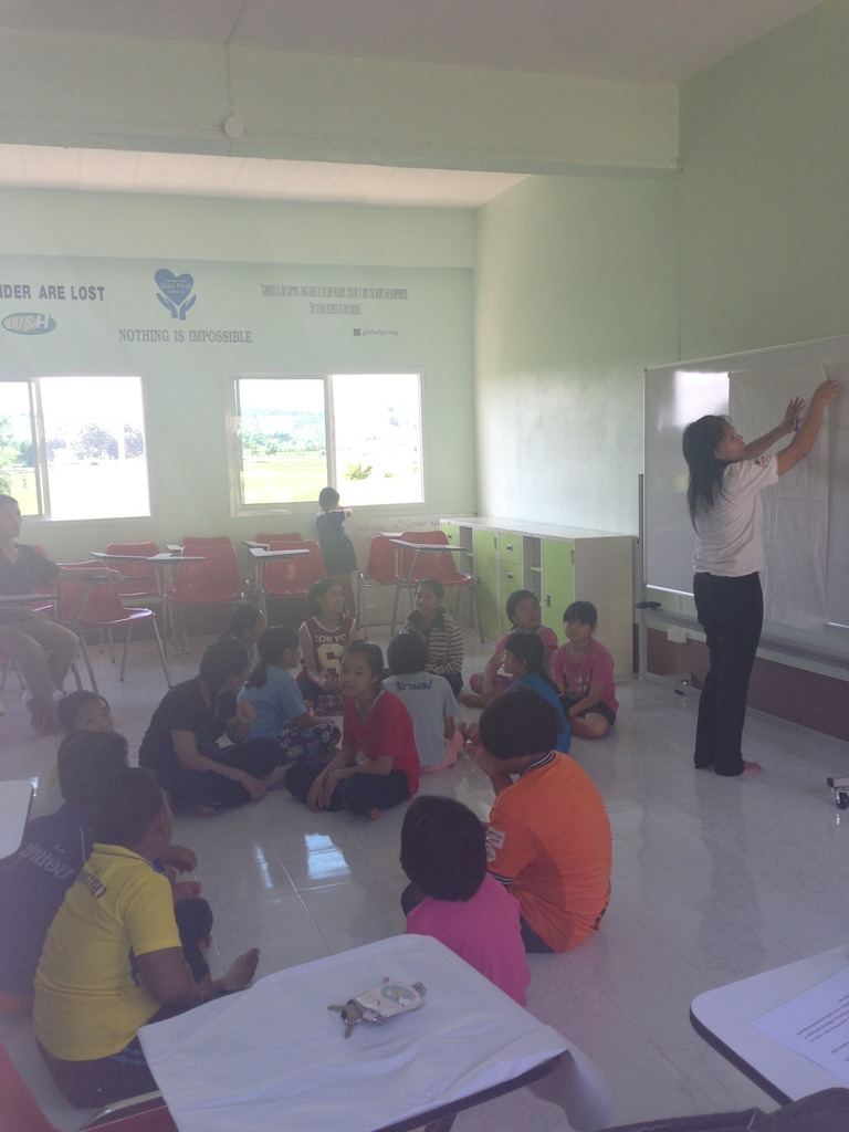 The new classroom