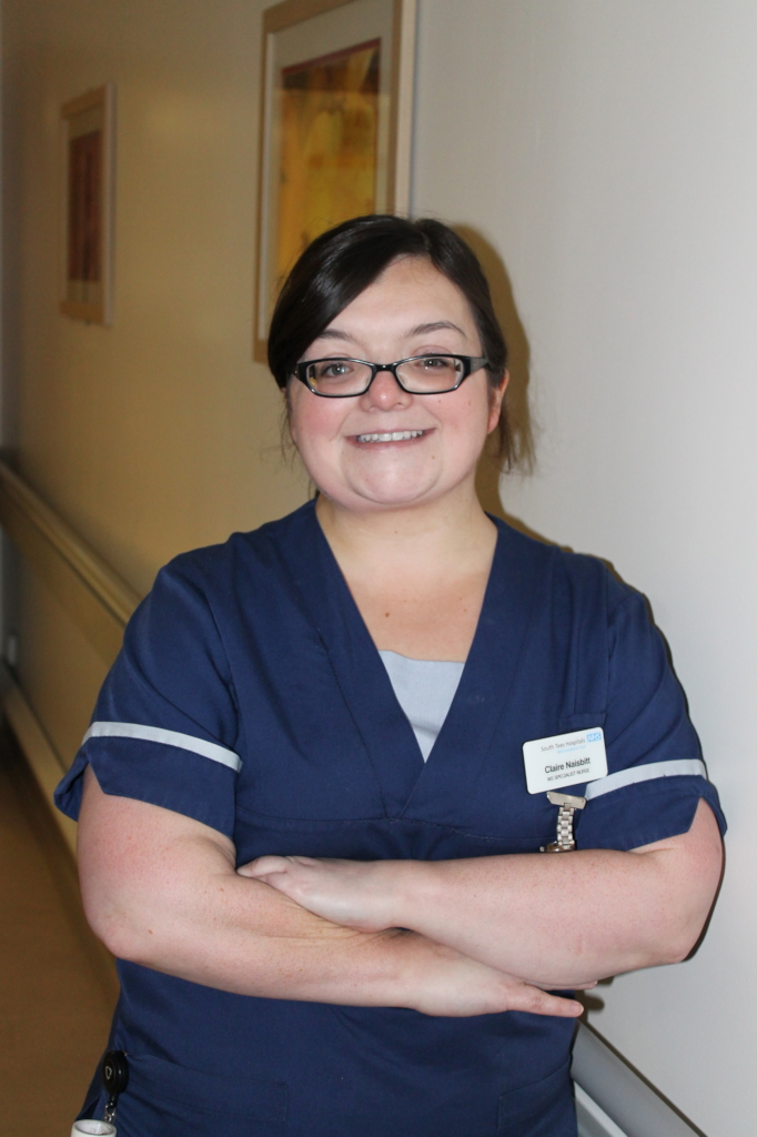 Claire Naisbitt MS Specialist Nurse - South Tees