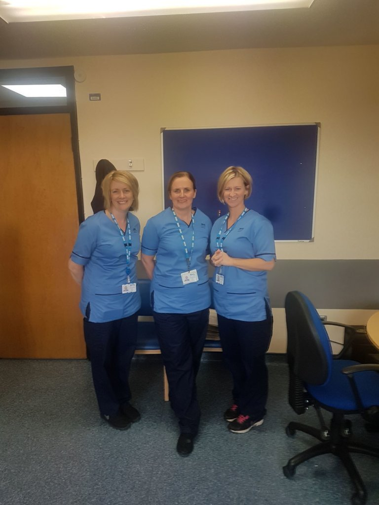 MS specialist nurse team