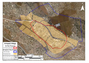 Israeli Army downsizes village