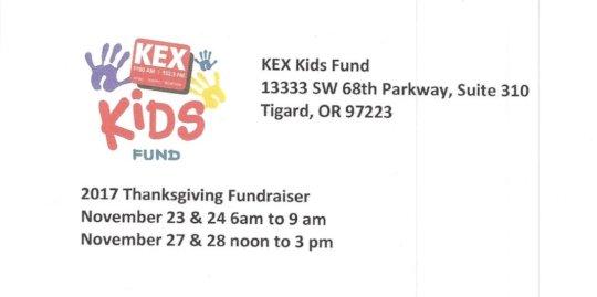 2017 Fundraiser Details