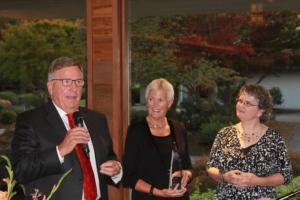 Paul & Vicki Linnman, Kerith Vance at OLSHF Gala