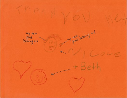 Thank You Note from Beth