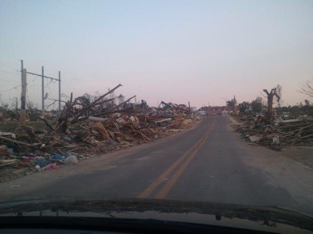 Tornado Aftermath in Alabama