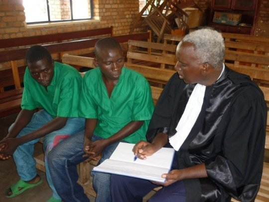 Fight illegal juvenile detention in Burundi
