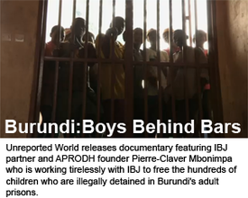 Documentary: Burundi Boys Behind Bars