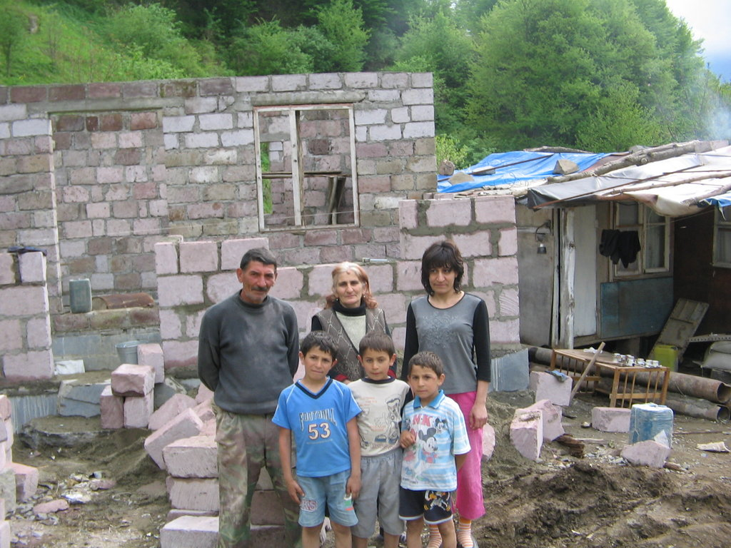 Helping 2 low income families in housing poverty